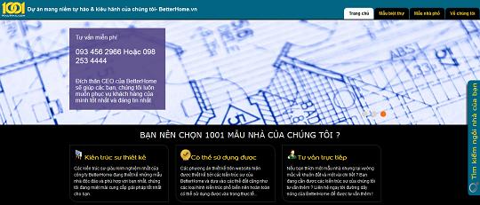 Trang 1001maunha.com làm bằng WordPress
