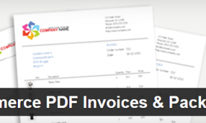 Plugin WooCommerce PDF Invoices & Packing Slips