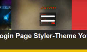 Plugin Custom Login Page Styler-Theme Your Admin Login