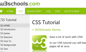 Học CSS và nhiều hơn nữa tại W3Schools