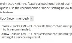 Tắt chức năng đăng nhập cùng lúc nhiều lần vào dịch vụ XML RPC của Wordpress