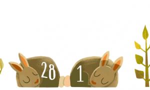 Google thay Doodle để kỉ niệm ngày 29 tháng 2