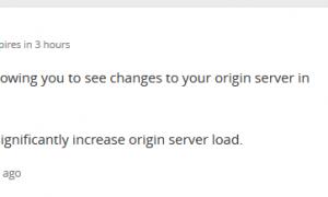 Bật chức năng phát triển trên Cloudflare để không cache
