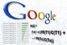 Chỉ số Google Pagerank ( minh họa)