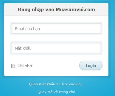 Đăng nhập được cả bằng email vào trong Wordpress