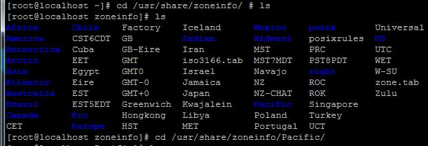 List các TimeZone, chọn cái nào gần chúng ta nhất :D