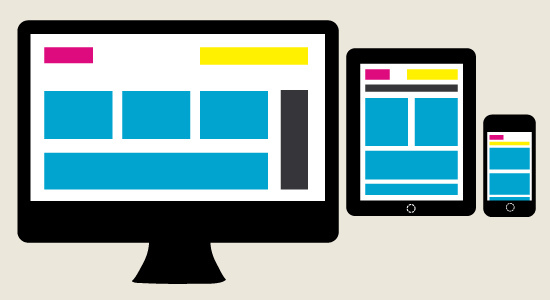 Web design in the form of responsive architecture