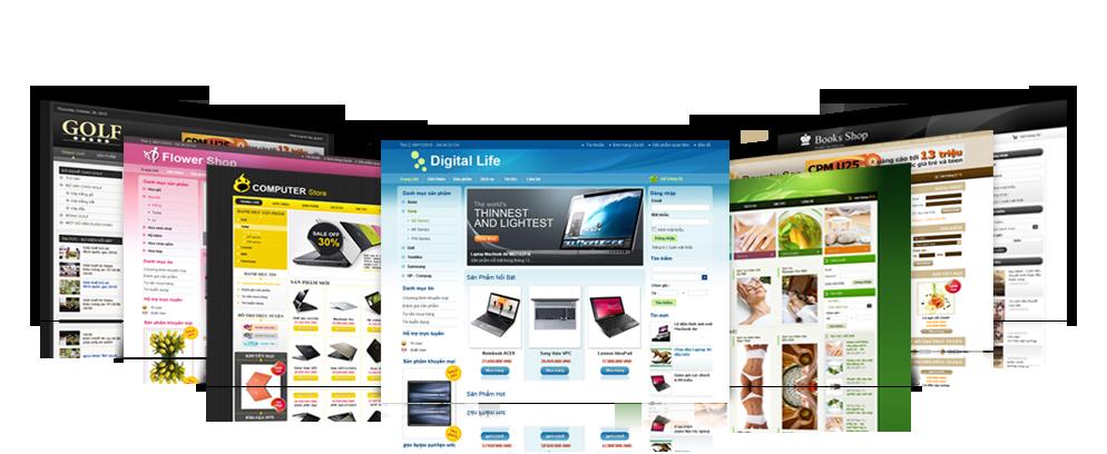 Thiết kế mọi website trên nền tảng Wordpress