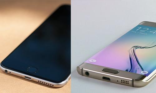 Iphone 6 và Samsung Galaxy S6