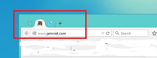 Icon của website hiện trên các đầu tab trình duyệt