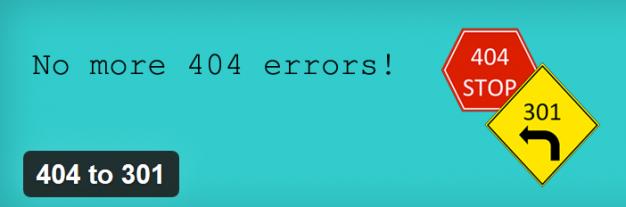 Plugin 404 to 301