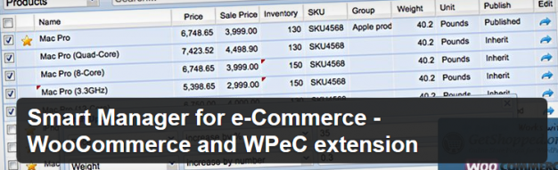 Smart Manager for e-Commerce - WooCommerce and WPeC extension