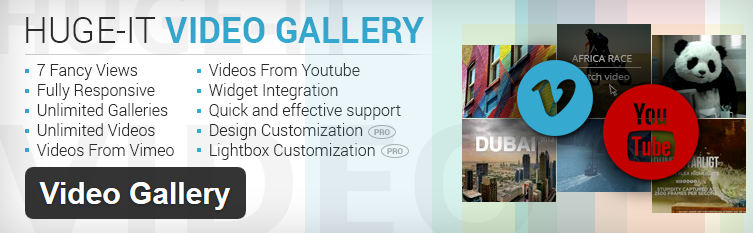 Plugin Video Gallery