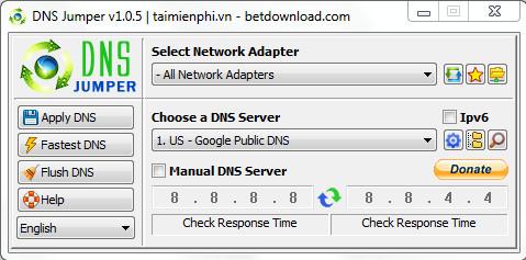 Phần mềm DSN jumper