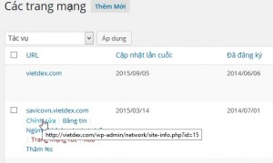 Chuyển một site từ WordPress Multisite sang Single Install
