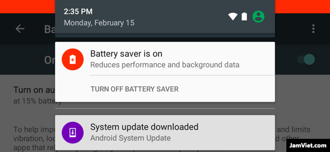 chế độ Battery Saver Mode