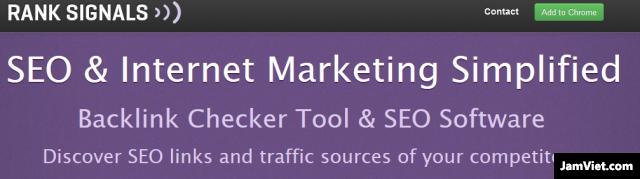 Top 5 công cụ kiểm tra Backlink miễn phí