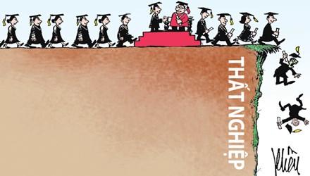 Sinh viên tốt nghiệp xong thất nghiệp