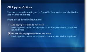 Giao diện một phần mềm RIP nhạc từ đĩa CD