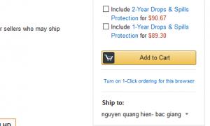 Nút mua của Amazon