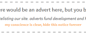 Thông báo khi ai đó chặn quảng cáo của bạn