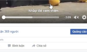 Video có lượt xem khủng hơn trên Facebook