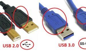 Cáp kết nối USB 3.0 VS USB 2.0
