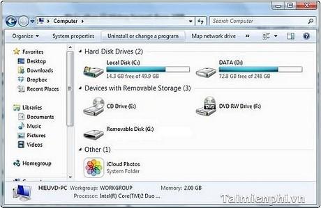 """Ảnh: Cách sửa lỗi """"Removable Disk"""" USB không thể truy cập"""
