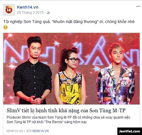 Bài đăng của Kenh14 trên Facebook