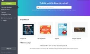 Canva - công cụ đồ họa trực tuyến miễn phí