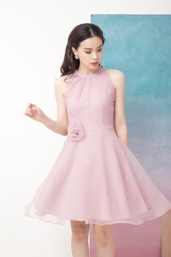 Váy voan phồng điệu đà