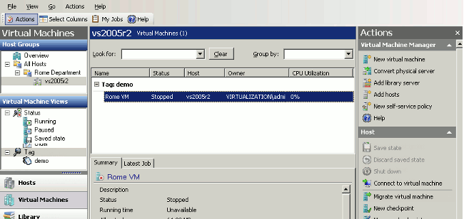 Phần mềm ảo hóa VMWare Server