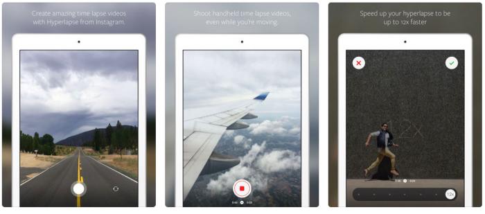 HyperLapse hỗ trợ trên Iphone và Ipad