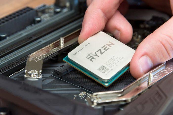 Cận cảnh CPU AMD Ryzen