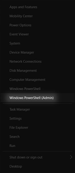 PowerShell của Windows 10