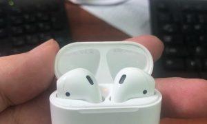 Hộp và tai nghe Apple AIrpods 2