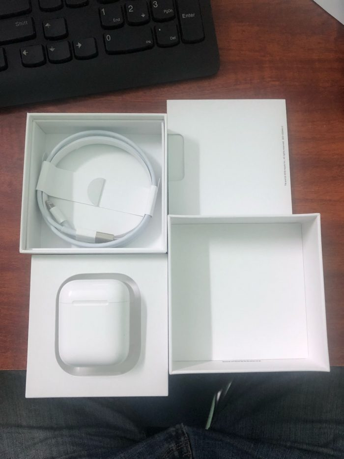 Khui hộp Apple Airpods 2
